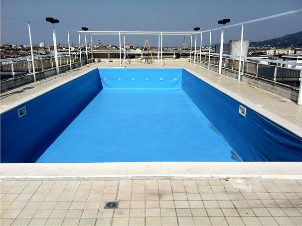No Swimming Pool : Ruggero vfx compositing marco holland